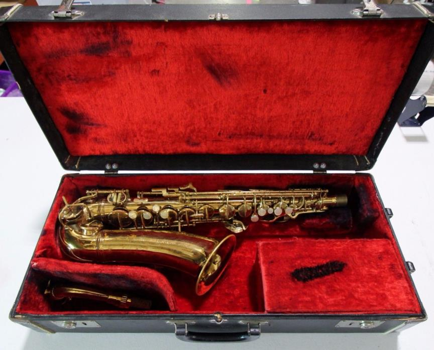 1942 Conn 6M VIII Alto Saxophone with Case FREE SHPPING