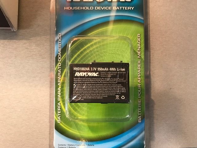 Brand New replacement battery for Nintendo DS-Lite