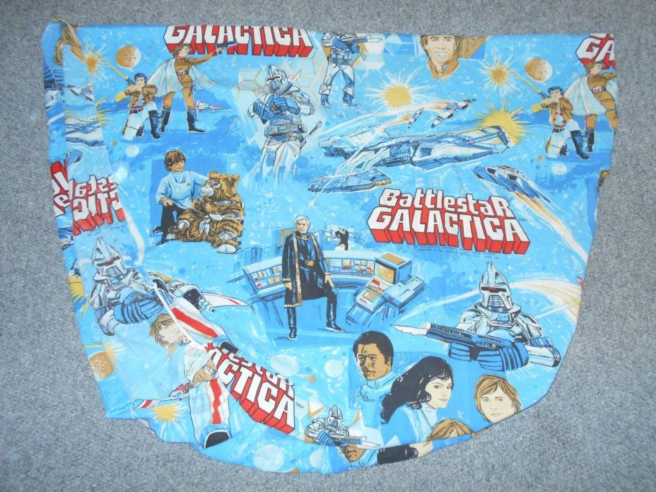 1978 BATTLESTAR GALACTICA TWIN BED FITTED SHEET ONLY