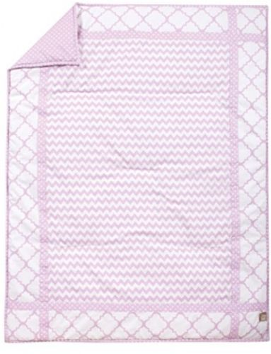 Crib Bedding Set 3 Piece Bedroom Quilt Sheet Skirt Comfortable Cotton Durable