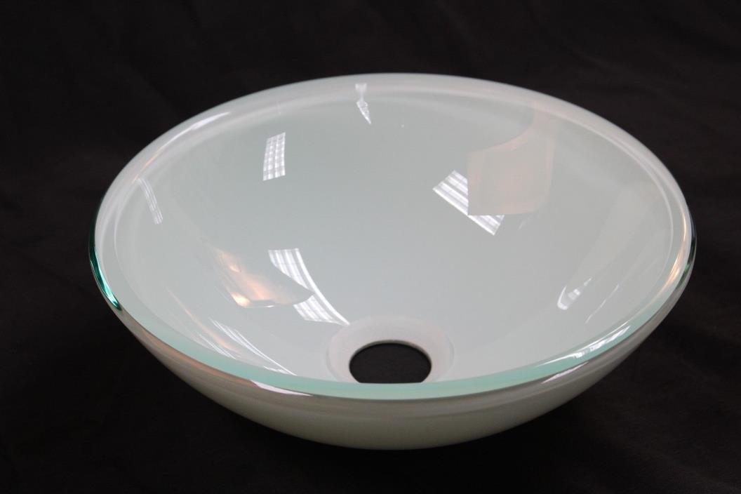Bathroom Glass Vessel Sink 12