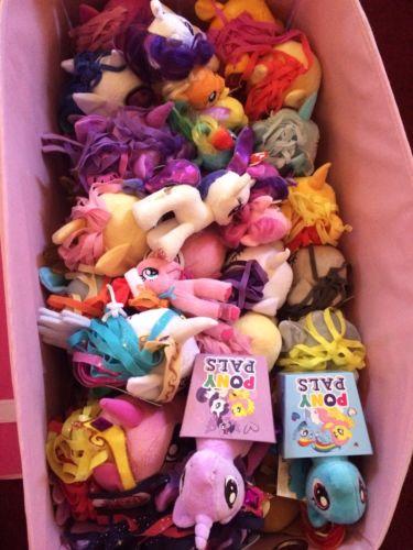 my little pony plush lot