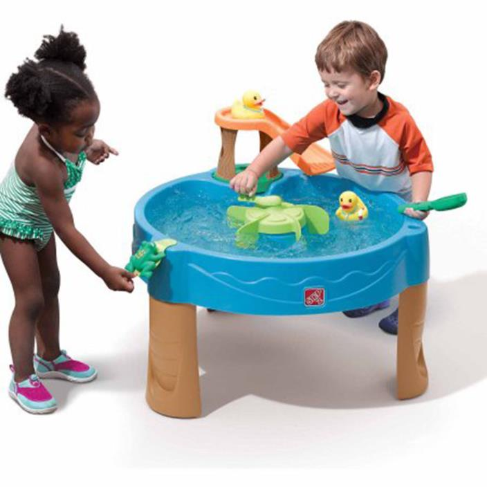 Kids' Water Table Duck Pond Backyard Patio Game Table Playing