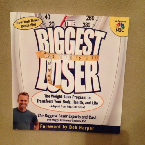 Biggest Loser Weight Loss Program, Calorie Counter, Cookbook  Health Education