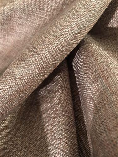 DESIGNER METALLIC LINEN Fabric Remnant 1 YD., 54