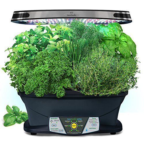 Miracle Gro AeroGarden ULTRA Indoor Garden With Gourmet Herb Seed Kit