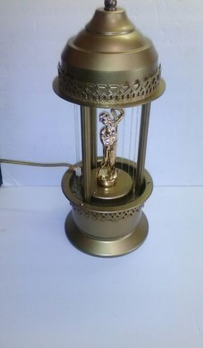 Vtg. Mineral Oil Motion Oil Rain Lamp