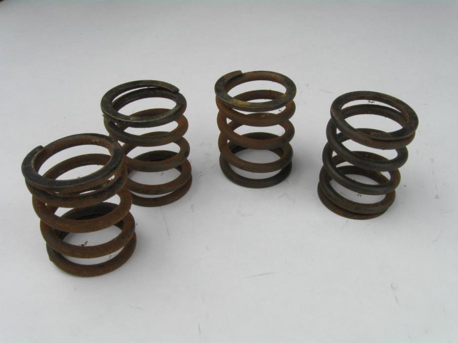 Vintage Motorcycle Springs, Set of 4 Seat Motor Repurpose