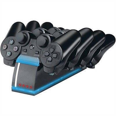 PS3 Quad Controller Charge Dock