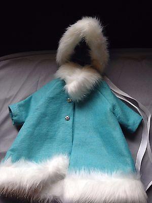 Vintage Coat and Bonnet -Fits 12
