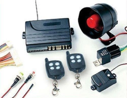 New Remote Engine Start Car Alarm Security System With Trunk Release Feauture