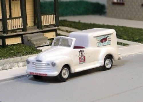 HO Sylvan Scale  Special Edition - 1948 - 1953 Good Humor Ice Cream Truck