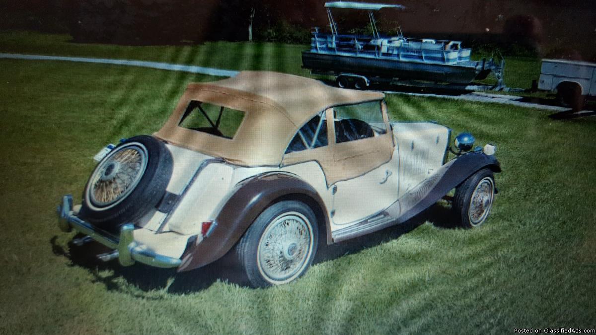 1952 MG Replica