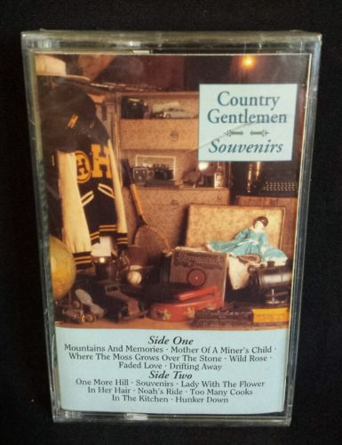 New Country Gentlemen Souvenirs Cassette Tape Rebel Records 1995 Bluegrass Music