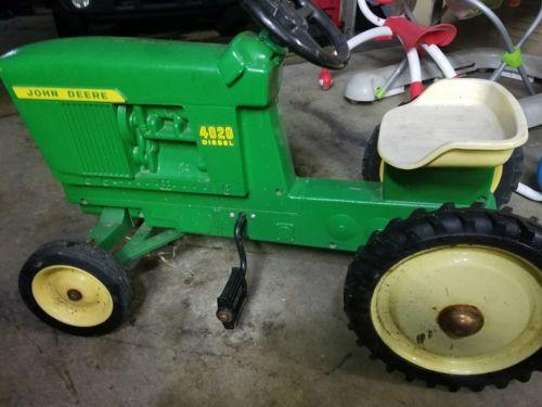 John deere 4020 pedal tractor