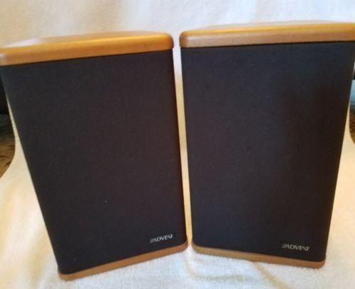 advent bookshelf speakers for sale classifieds. Black Bedroom Furniture Sets. Home Design Ideas