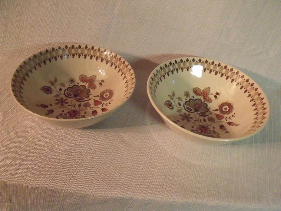 2 serving bowls 8 1/2