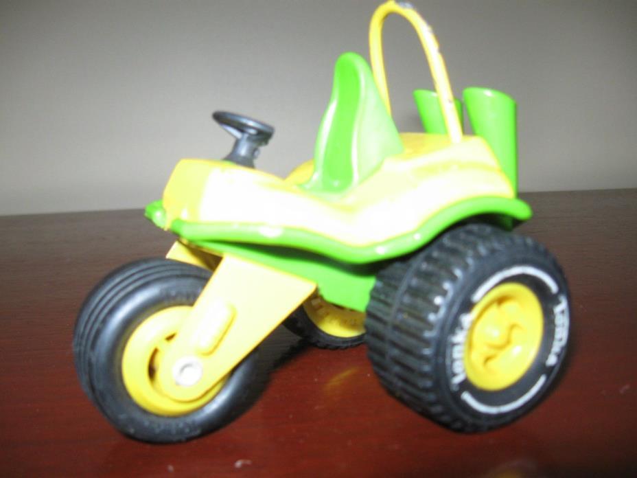 1960 Vintage Tonka Toy 3 Wheeler Trike--  ATV Off Road Green & Yellow