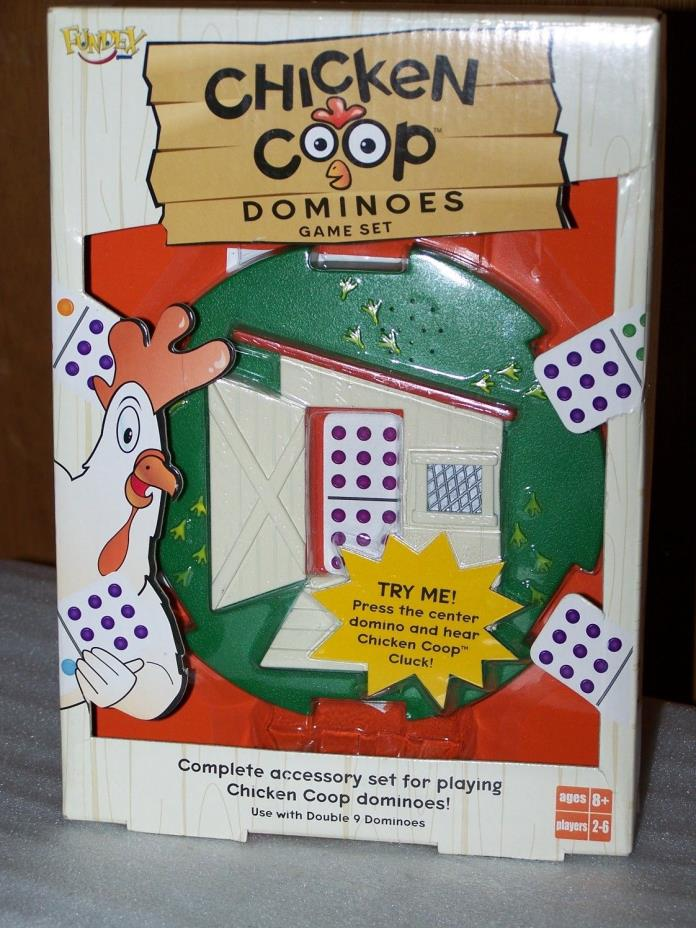 Chicken Coop Dominoes Game Set - Complete Accessory Set