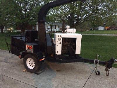 brush bandit chipper ford gas motor