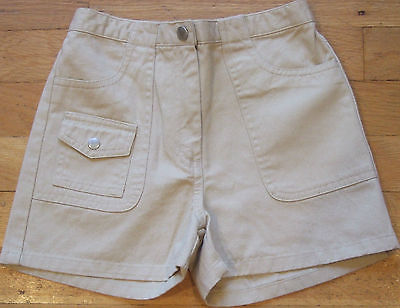 NEW  Basic  GYMBOREE  Khaki  SHORTS  Uniform  Size 7  NWT