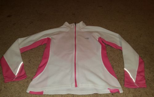 The North Face Flight Series Jacket size Large White Pink womens