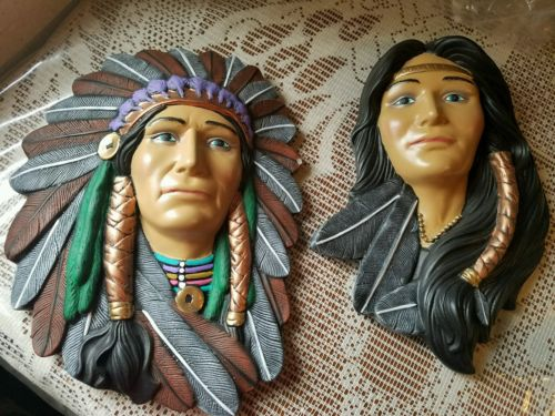 2 concrete molds new molds latex only couple American Indian