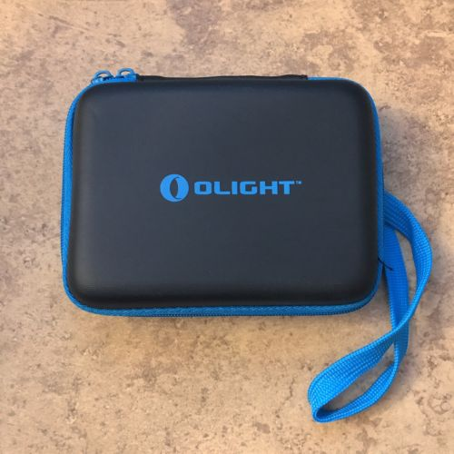 Olight Storage Box Case Holder for Battery Flashlight Router Accessories Black
