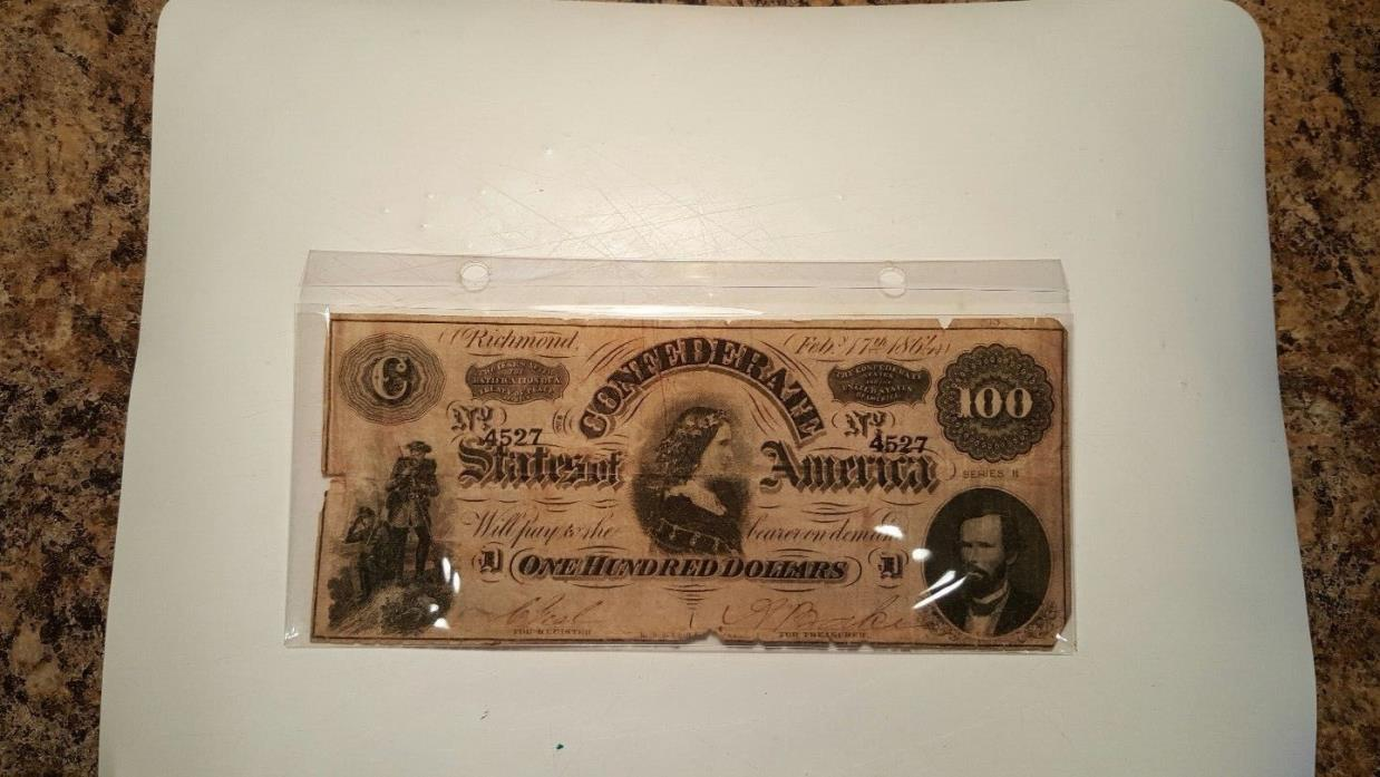 confederate paper money for sale What kinds of old paper money do you see people bringing in jack: they're bringing in a lot of world currency from world war two, and world war one which sounds wonderful but isn't  and they don't if they have real confederate money, some of it's relatively inexpensive, and some of it's very expensive the very expensive stuff.
