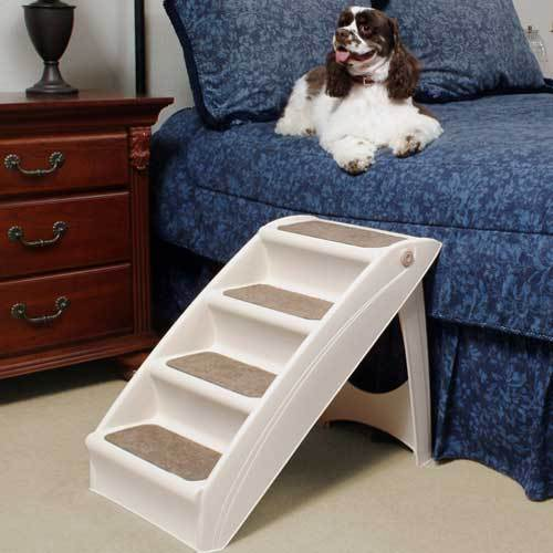 Large Pet Portable Dog Folding Stairs Stairs Tall High Bed Car Ladder Ramp Pup