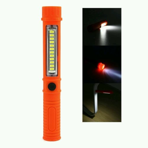Portable mini led magnetic flashlight 2 modes