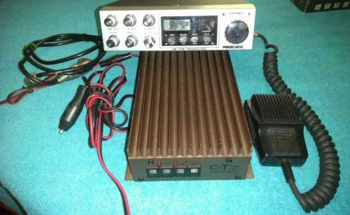 President Grant 40 CB Radio AM/SSB Tranciever 40 channel + C-T One Fifty amp