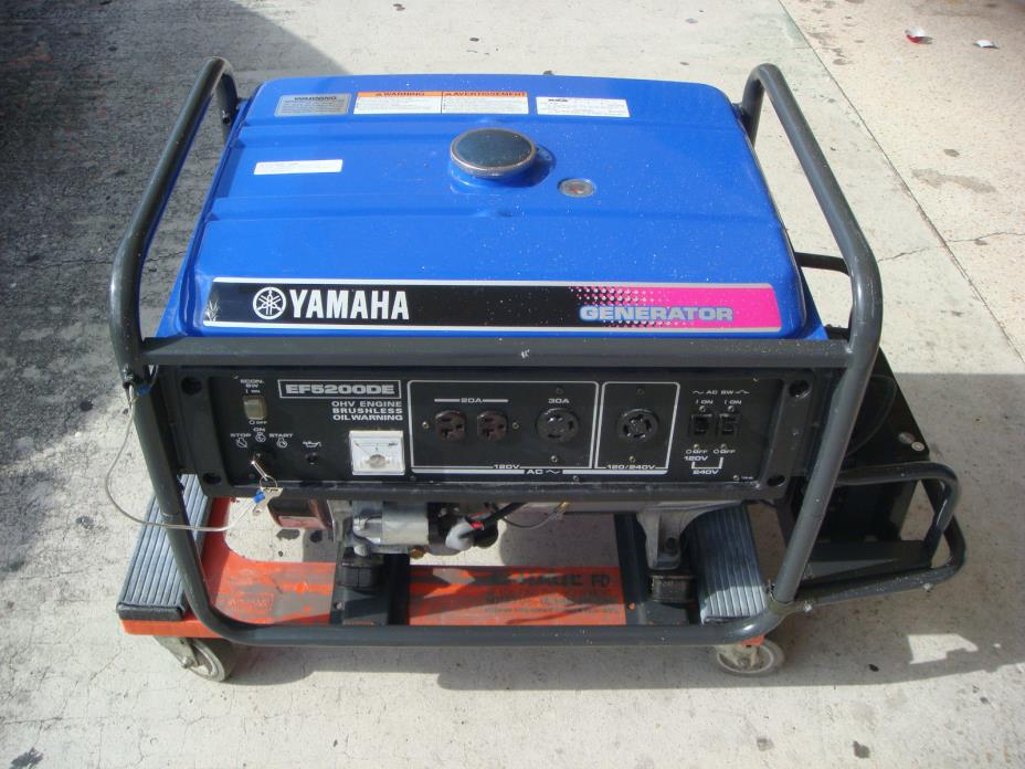 Gasoline electric generator for sale classifieds for Yamaha generator for sale