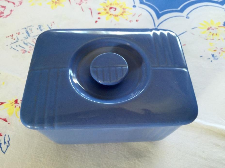 WESTINGHOUSE The Hall China Vintage Blue Refrigerator Dish ART DECO