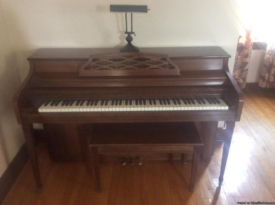 Whitney by Kimball Upright Piano
