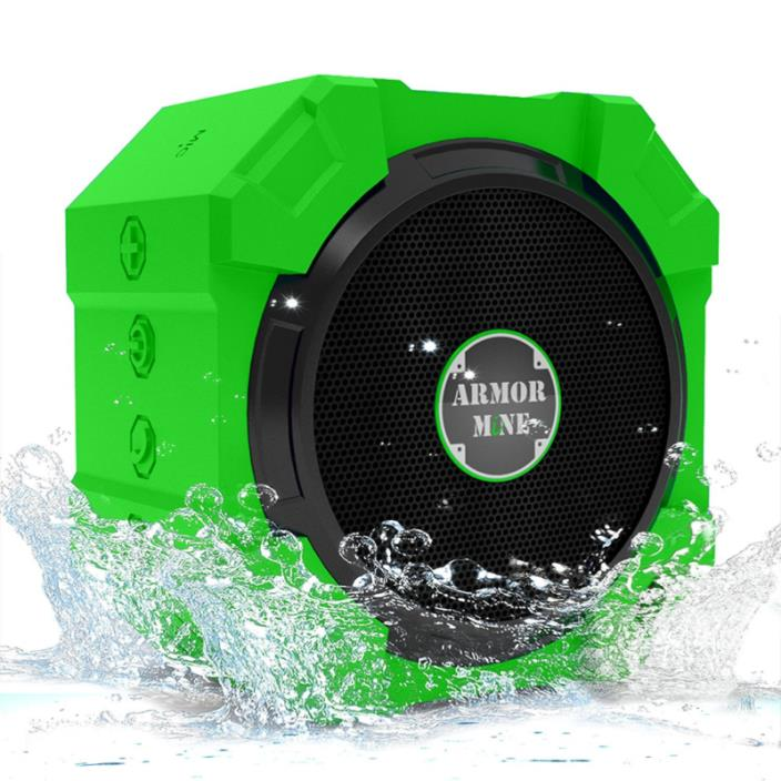 Speakers with Bluetooth - Wireless Powerful Hi-Def Bass Sound; Top Rated Waterpr
