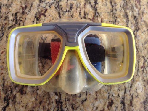 Scuba ScubaMax Dive Mask With Prescription -3 Lens In Both Left & Right
