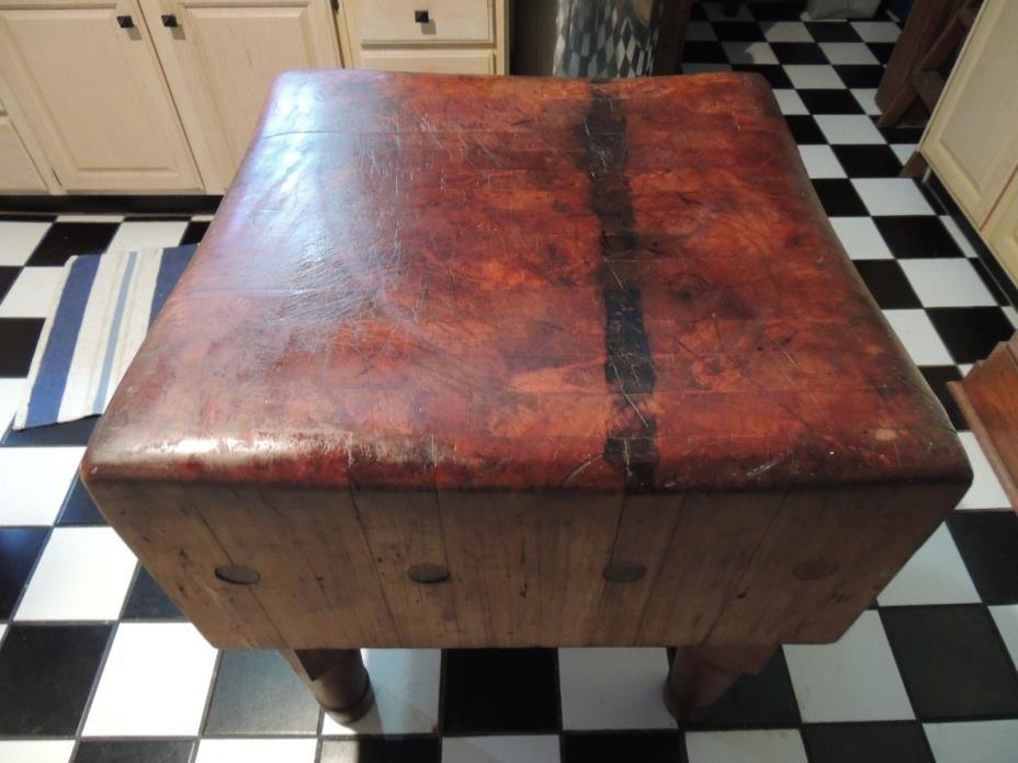 Antique Butcher Block For Sale Classifieds