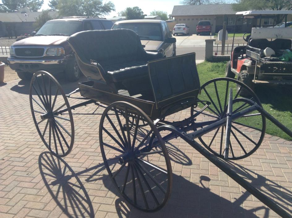 Antique Horse Drawn Doctors Wagon