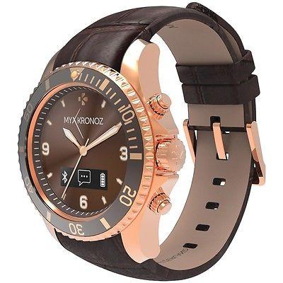 MyKronoz 813761020435 ZeClock Premium Smartwatch (Pink/Gold)