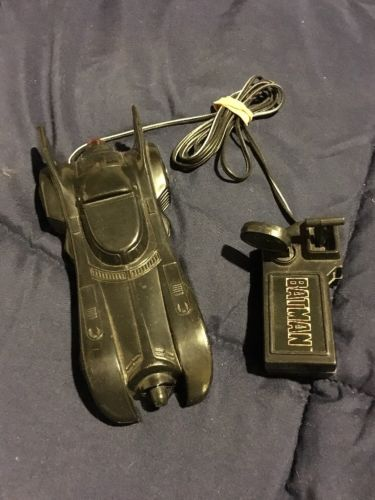 Vintage 1989 Toy Biz Batman Remote Control Batmobile