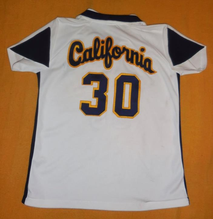 Vintage 1970s Cal Golden Bears Womens Jersey by Russell, Nice Game Use Free Ship