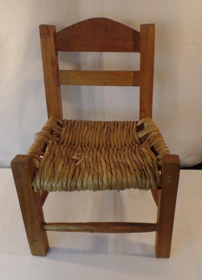Child Chair Wooden Decorative Vintage Style