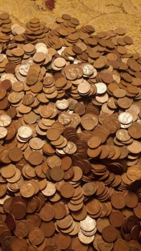6000+ unsearched wheat pennies