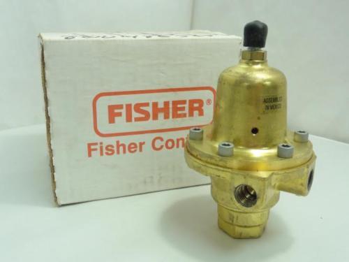 158756 New In Box, Fisher 1301F-3 Regulator Valve, 225PSIG, 1/4