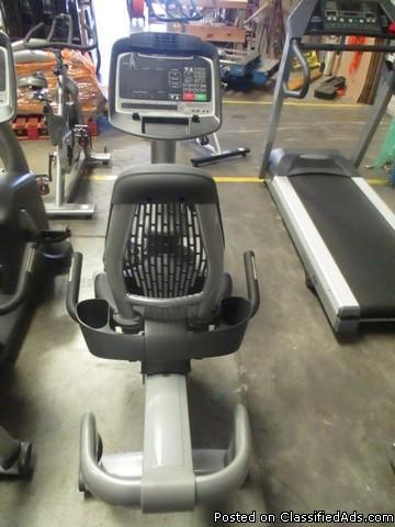 (2) SportsArt C572R Recumbent Bike RTR# 6074770-05