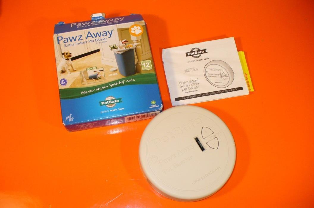 PETSAFE PAWZ AWAY EXTRA INDOOR PET BARRIER ZND-1000 MISSING PART
