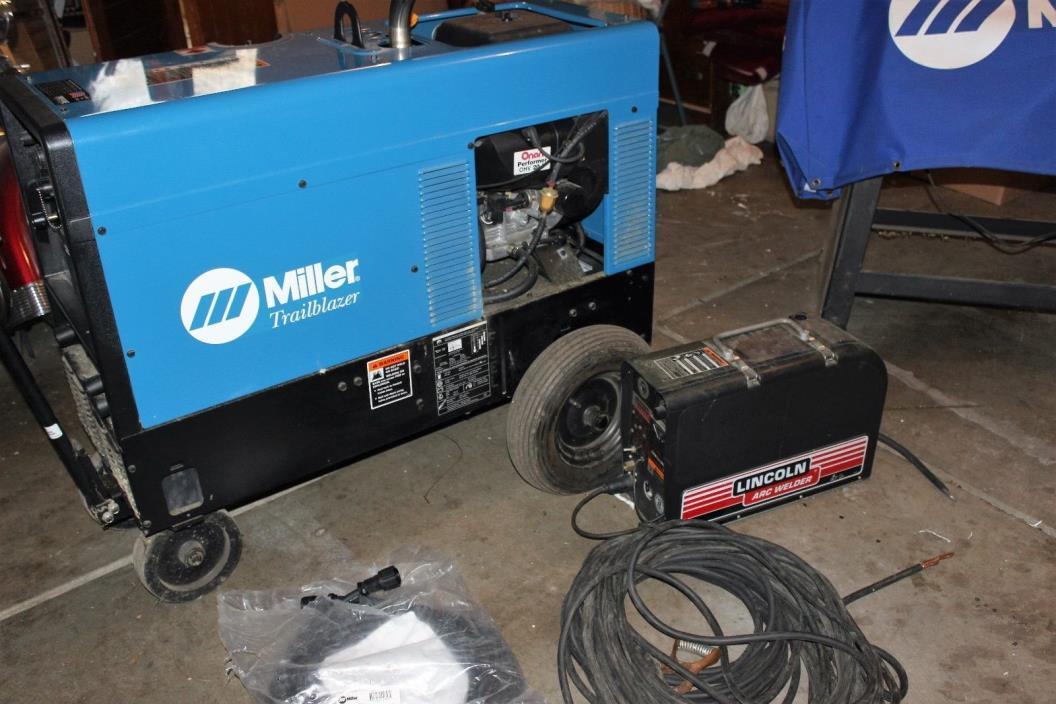 301 Miller Trailblazer Generator Welder With TIG and ARC Welder Modules