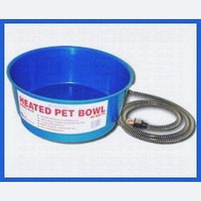 Farm Innovators Round Heated Pet Bowl (60 Watt) Blue FIR19