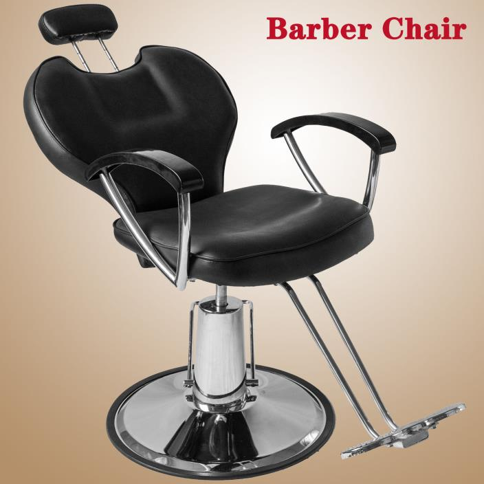 Hydraulic Reclining Barber Chair Shampoo Salon Equipment Styling Beauty Spa